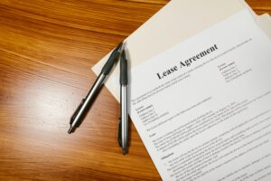 Multifamily data lease agreement subleasing